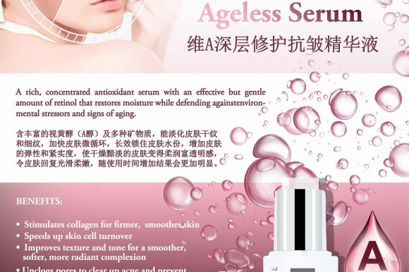 New Launching – VETINOL Ageless Serum